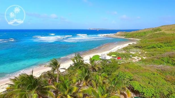 North Beach, Pinel Island