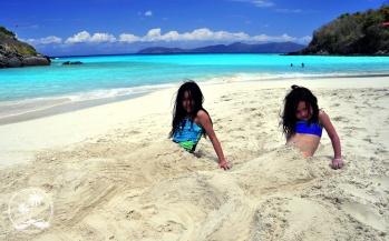 Mermaids at Trunk Bay