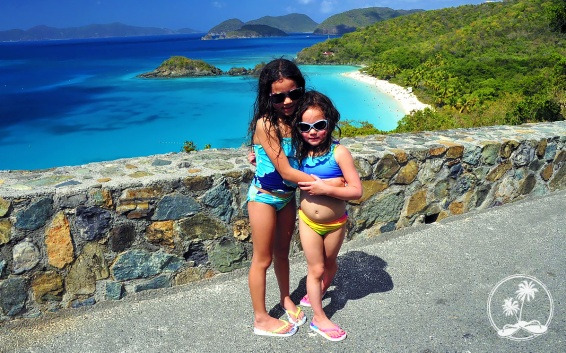 The view at Trunk Bay