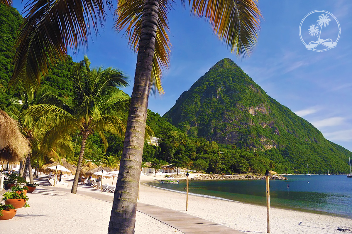 Gros Piton and Sugar Beach