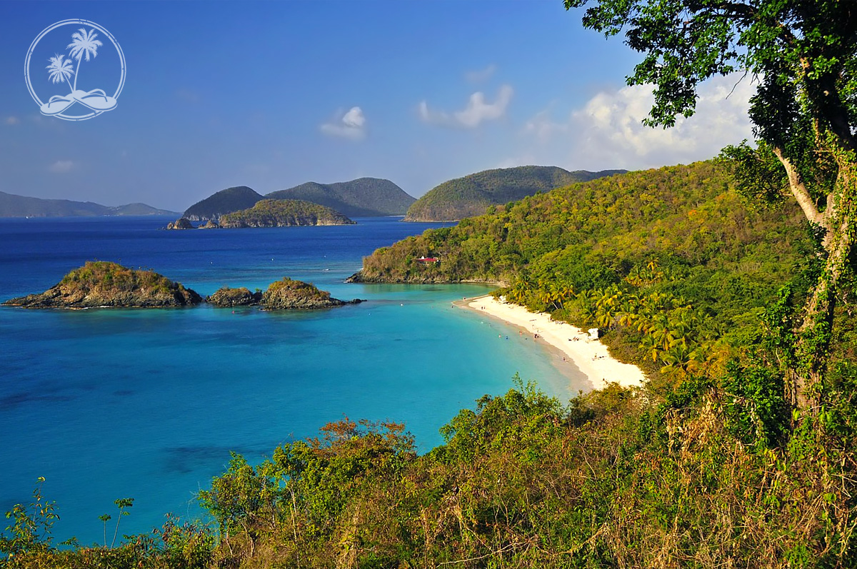 Late afternoon at Trunk Bay, St. John