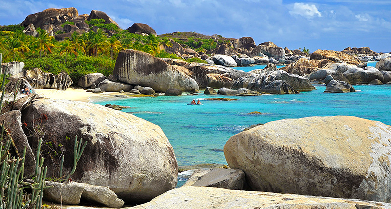 Little Trunk Bay, Virgin Gorda, British Virgin Islands