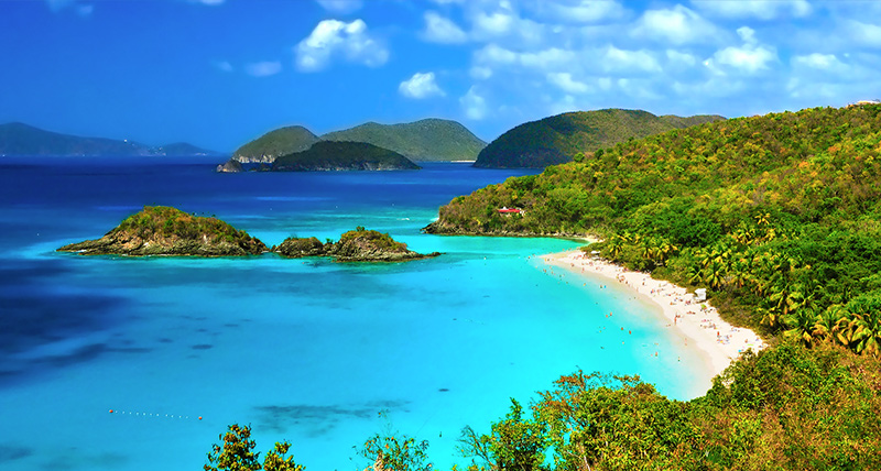 Trunk Bay, St. John, US Virgin Islands