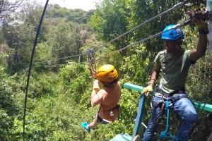 Antigua Rainforest Ziplines